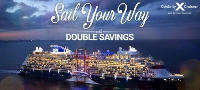 Celebrity - sail your way with double savings